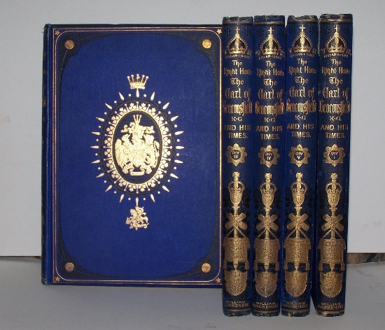 Image for The Right Hon. BENJAMIN DISRAELI, EARL OF BEACONSFIELD, K.G. and HIS TIMES [Five Volume Set]