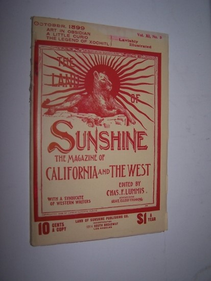 Image for THE LAND OF SUNSHINE - The Magazine of California and The West