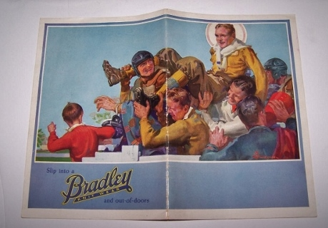 Image for Slip into a BRADLEY KNITWEAR and Out-of-Doors  -  Fall and Winter 1927