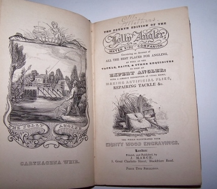 Image for THE JOLLY ANGLER or, Water Side Companion   The whole illustrated with eighty wood engravings