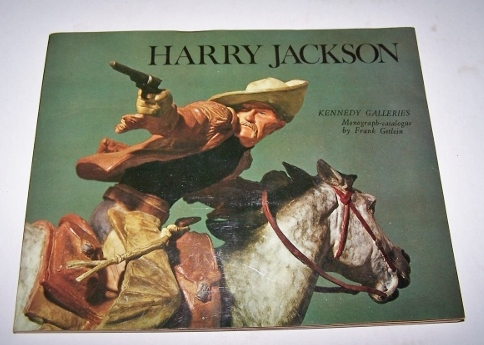 Image for Harry Jackson Monograph - Catalogue by Frank Getlein