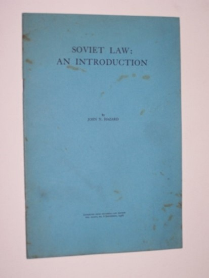 Image for Soviet Law: An Introduction
