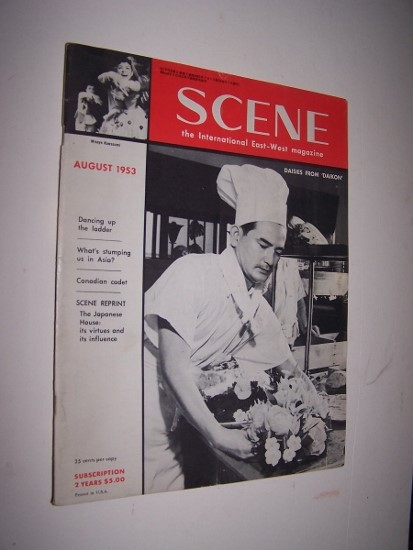 Image for Scene: The International East-West magazine August 1953