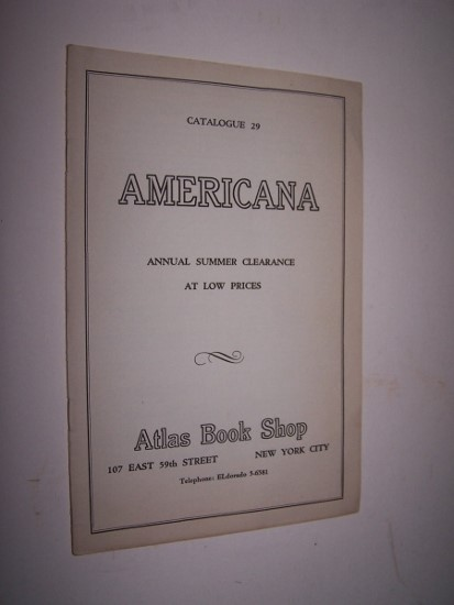 Image for Americana - Catalogue Number 29