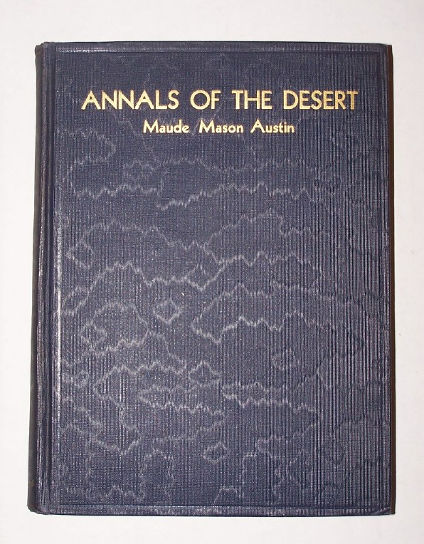 Image for ANNALS OF THE DESERT