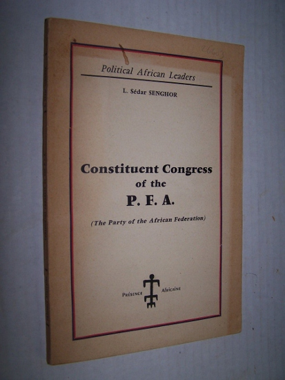 Image for Report on the Principles and Programme of the Party. Constituent Congress of the P. F. A.