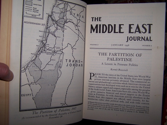 Image for The Partition of Palestine / The Iraqi Coup d'Etat of 1936 / Communist Tactics in Palestine