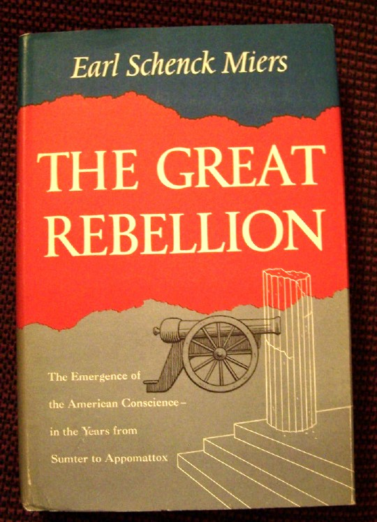 Image for THE GREAT REBELLION - The Emergence of the American  Conscience [Special Autograph Edition ]