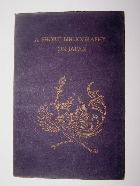 Image for SHORT BIBLIOGRAPHY ON JAPAN