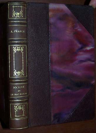 Image for JOCASTE ET LE CHAT MAIGRE  [ Lovely Leather Binding]