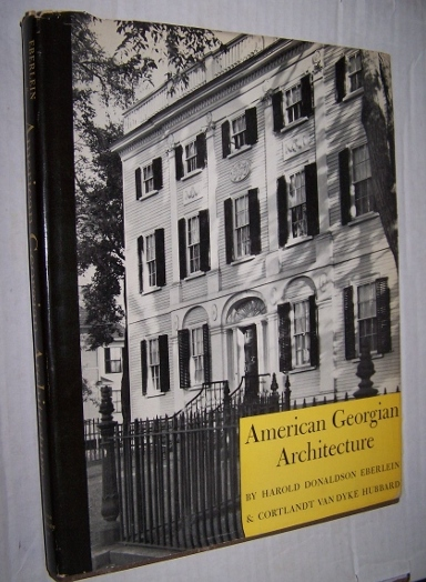 Image for AMERICAN GEORGIAN ARCHITECTURE