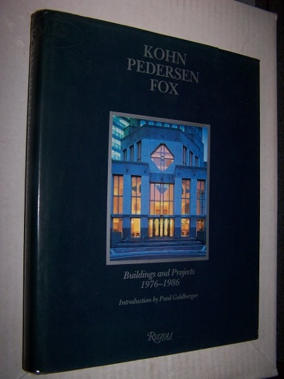 Image for KOHN PEDERSEN FOX -- Buildings and Projects 1976 - 1986