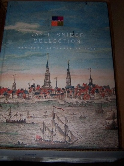 Image for JAY T. SNIDER COLLECTION - New York, November 19, 2008; featuring the History of Philadelphia and Important Americans