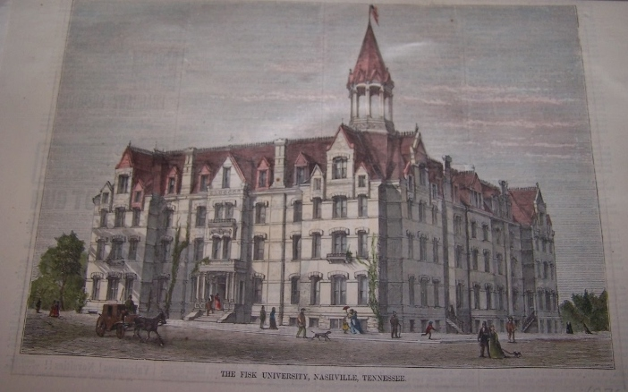 Image for THE FISK UNIVERSITY, NASHVILLE, TENNESSEE [ Hand-colored wood engraving ]