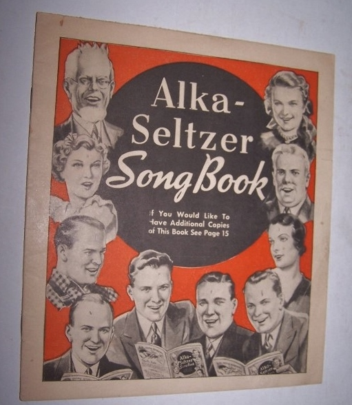 Image for Alka-Seltzer Song Book