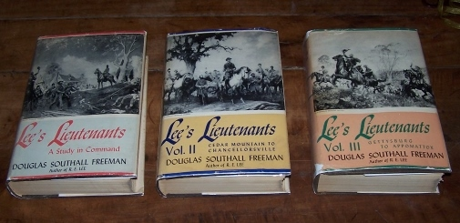 Image for LEE'S LIEUTENANTS - Three Volume Set