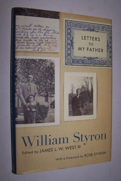 Image for LETTERS TO MY FATHER  - William Styron