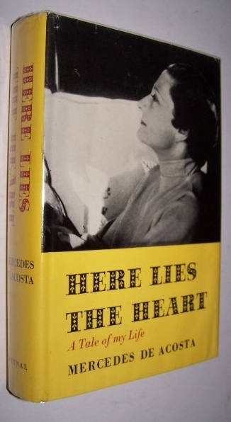 Image for HERE LIES THE HEART A Tale of My Life