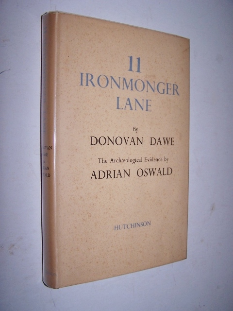 Image for 11 Ironmonger Lane The Story of a Site in the City of London