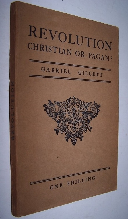 Image for REVOLUTION Christian or Pagan with an introduction by the Right Reverend Arthur Chandler