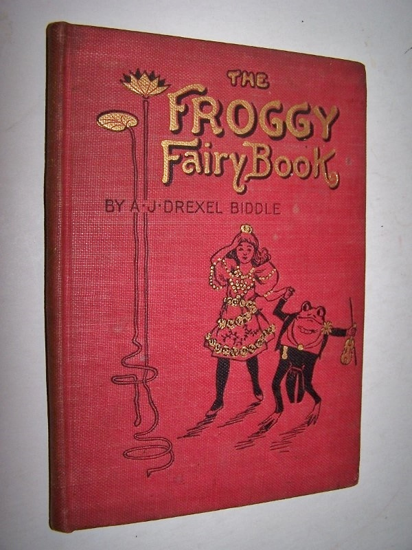 Image for THE FROGGY FAIRY BOOK